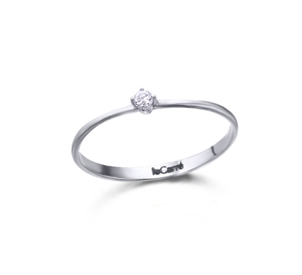 94589971ba68 Anillo Oro Blanco Diamante