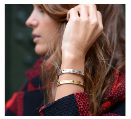 Precio pulseras de oro rigidas