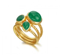 Goa Emerald Ring