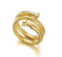 Tubogas Gold Ring