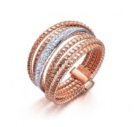 Anillo Palm Tree Rose Gold