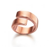 Twist Rose Gold Ring
