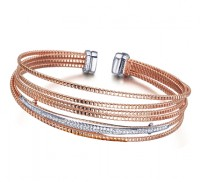 Pulsera Palm Tree Rose Gold