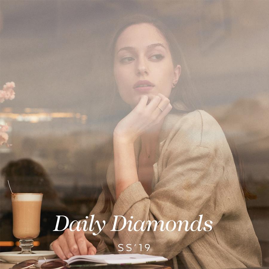 Colección joyas de oro con diamantes DAILY DIAMONDS LECARRÉ