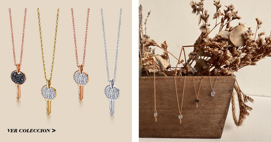 LLaves de Oro 18k con Diamantes de la nueva colección Corazón Valiente de LECARRÉ