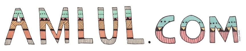 Logotipo del blog de moda Amlul de Gala Gonzalez