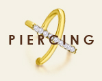 PIERCING ORO DIAMANTES