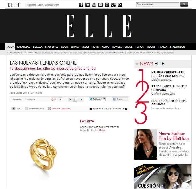 Revista ELLE Julio
