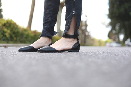 Zapatos negros Top shop / Black shoes Top Shop