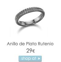 Anillo Plata rutenio