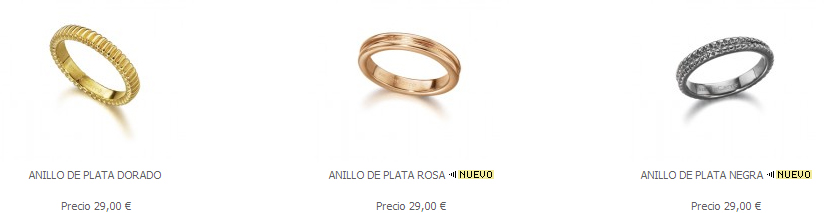 Anillos Combinables