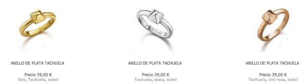 Anillos Tachuelas