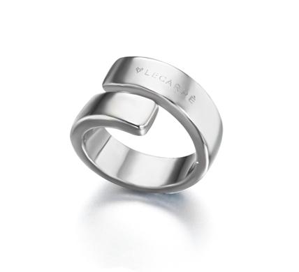 Anillo de plata twist gold ring recubierto de rodio lecarr for Anillos de rodio precio