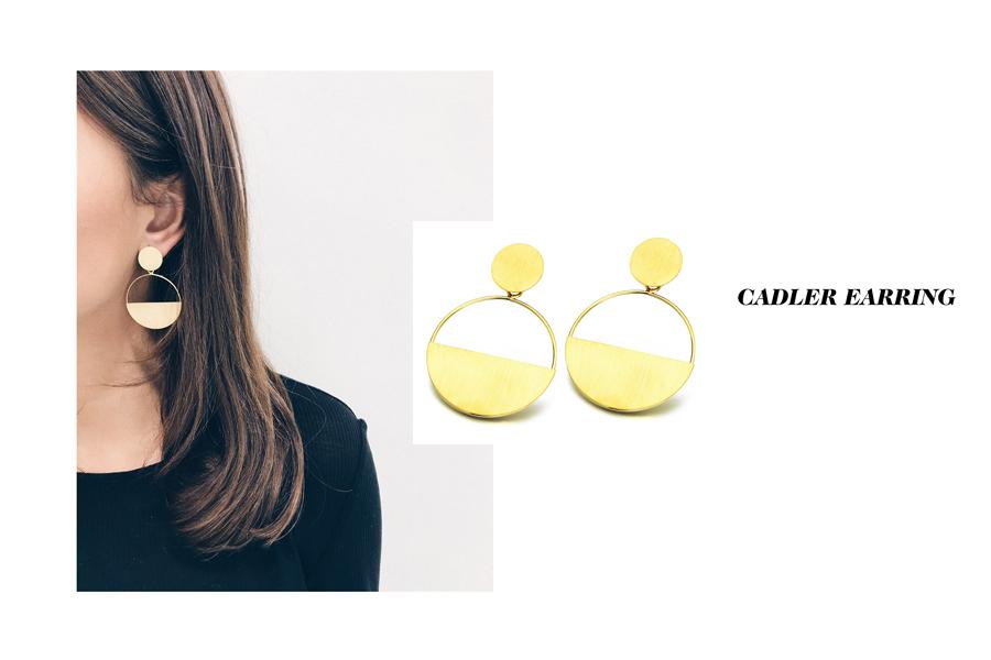 Cadler earring by LECARRE