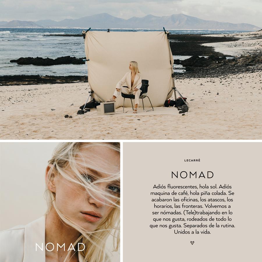 Colección NOMAD by LECARRÉ de Joyas de Oro con Diamantes