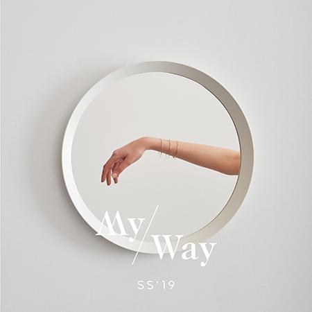 Colección my Way de LECARRÉ joyas personalizadas en oro de 18k