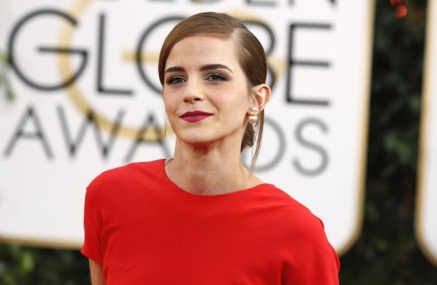 Emma Watson en los Globos de Oro