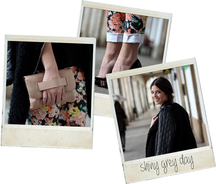 estilismo pantalon de flores