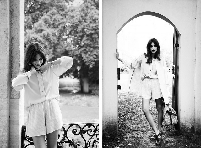 Fotos en Blanco y negro de la mansion de verano de Zalando