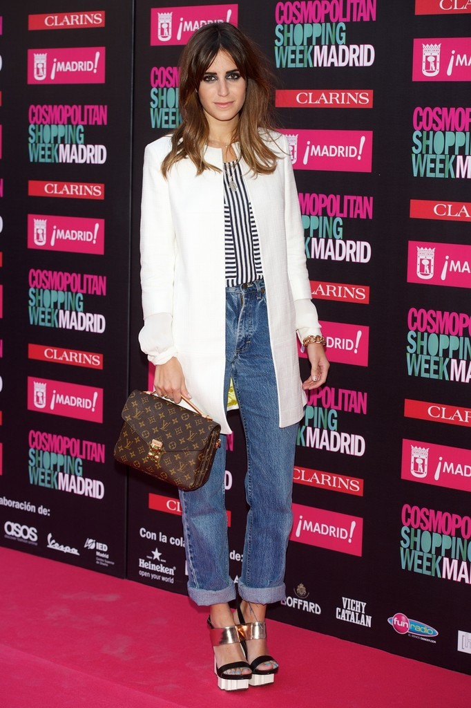 Gala Gonzalez en la Cosmopolitan Fashion week