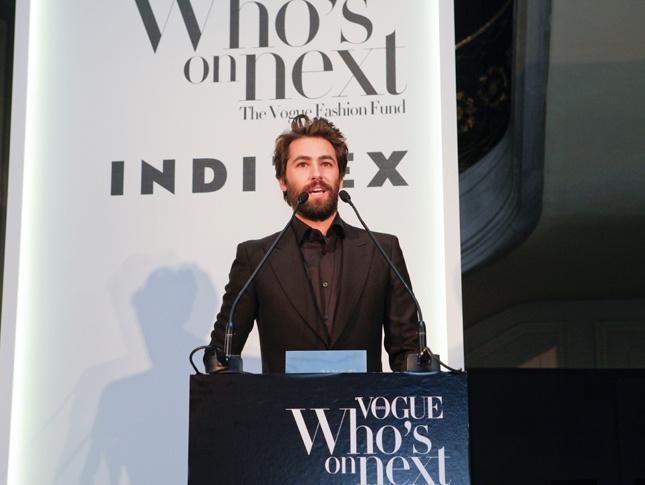 Juan Vidal es el joven disenador ganador del ultimo Vogue Whos on Next