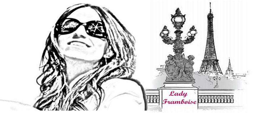 Logo de la blogger de moda Lady Framboise