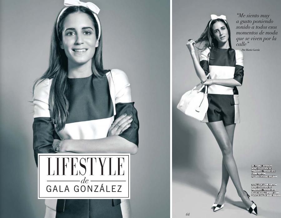 Fotos del reportaje de Lifestyle sobre Gala Gonzalez
