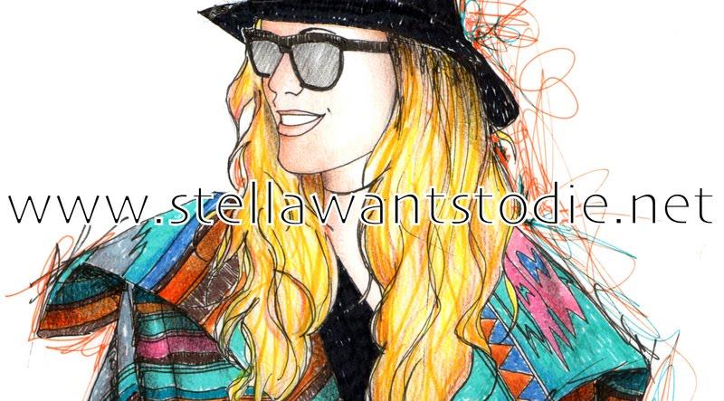 Logotipo del blog Stellawantstodie