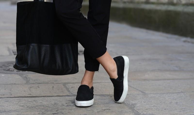 Sneakers negros de la marca Aldo
