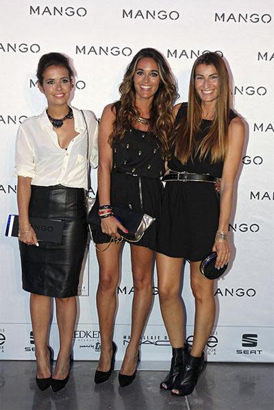 Silvia de Bartabac y María de Stellawantstodie en el 080 Barcelona Fashion