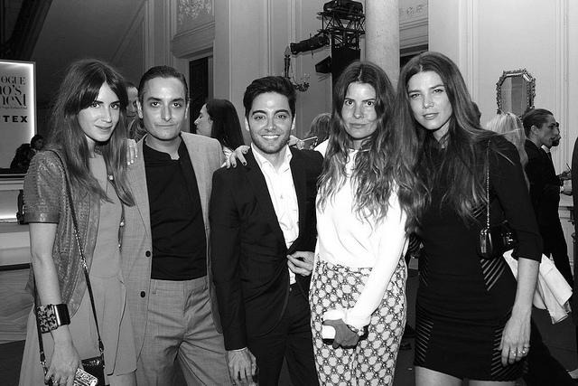Invitados al Vogue Whos on Next  como Belen Antolin ( Directora de Vogue ) o Gala Gonzalez (Fashion Blogger)