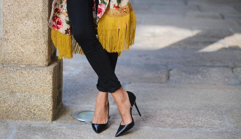 Zapatos de tacón negros de Zara